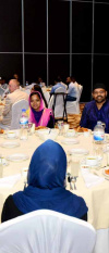 20. Iftar Party With Worker